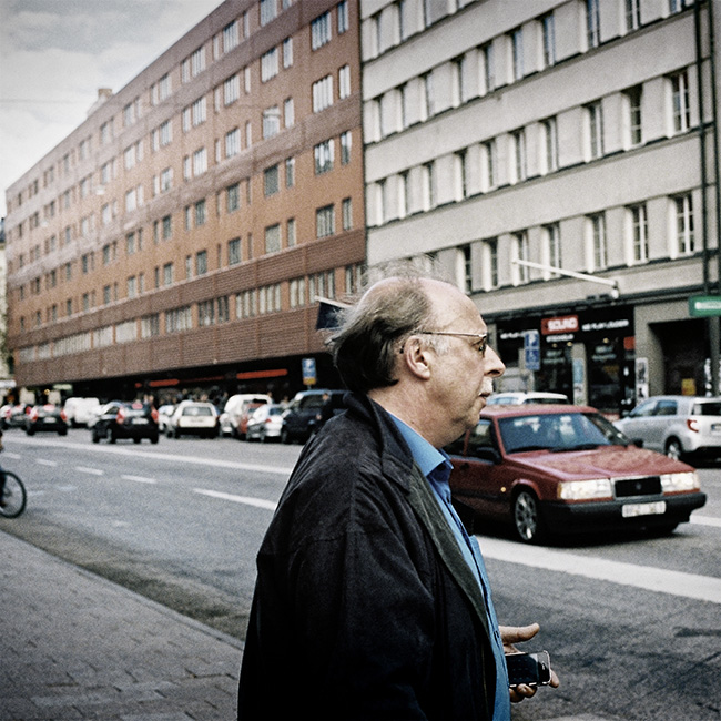 Street photography Stockholm portra 400